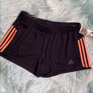 Adidas 3 Stripe Climalite Shorts